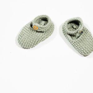 layette, chaussons, bébé, laine, coton