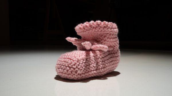 layette, bébé, tricot, coton